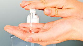 El sector de perfumería se ofrece para preparar soluciones hidroalcohólicas
