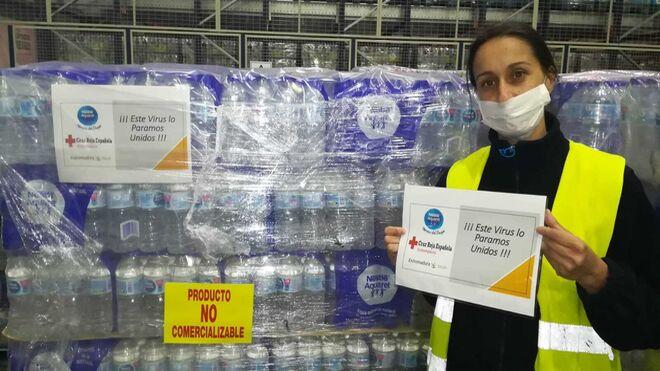 Nestlé dona más de medio millón de productos en España