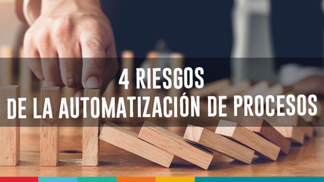 4 riesgos de la automatización de Procesos