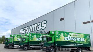 Masymas incorpora tres camiones sostenibles a su flota