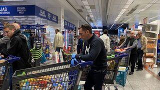 Ni rastro de coronavirus en los alimentos del supermercado