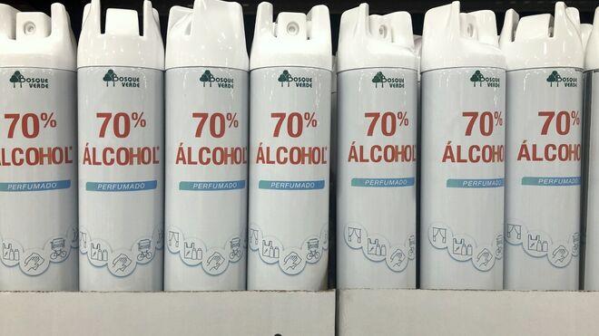 Mercadona dispara las ventas de alcohol perfumado