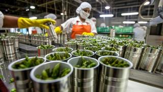 La Covid hace caer la producción de la industria de alimentación y bebidas
