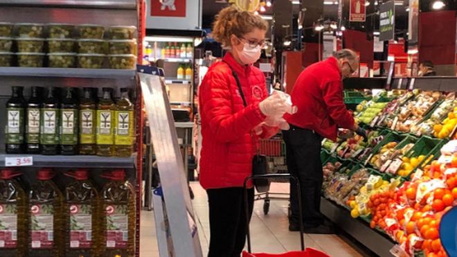 Cuándo se deben usar los guantes en el supermercado