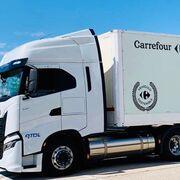 Carrefour aumenta su flota de camiones a gas