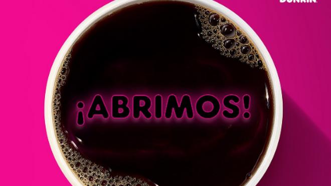 Dunkin' reabre más de 50 coffee shops en España