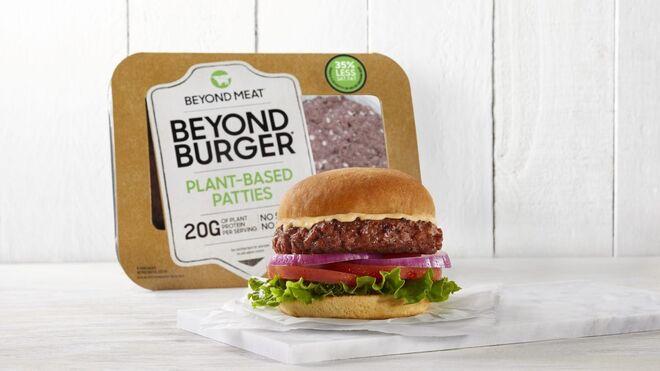 Alibaba vende la hamburguesa vegana Beyond Burger en China
