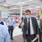 Carrefour España da la bienvenida a Alexandre de Palmas