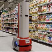 Llegan al súper los robots que ayudan a combatir la Covid