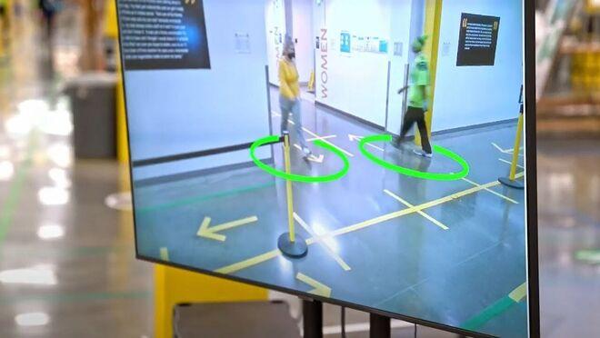 Amazon usa Inteligencia Artificial para controlar la distancia social en sus sedes