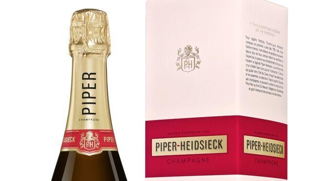 Osborne distribuirá en España el champagne Piper-Heidsieck