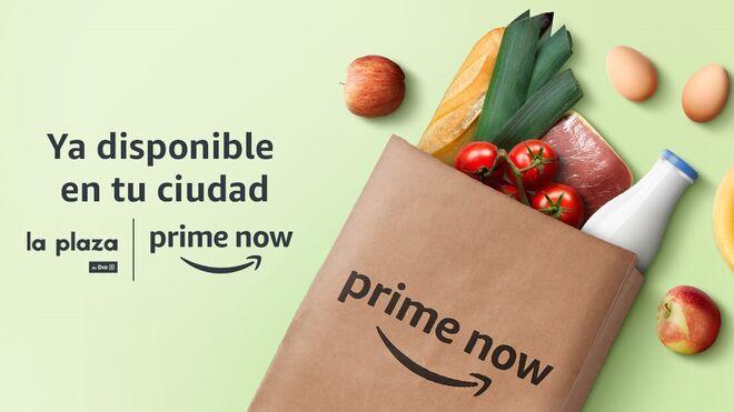 Amazon y Dia amplían el servicio Prime Now a Sevilla y alrededores