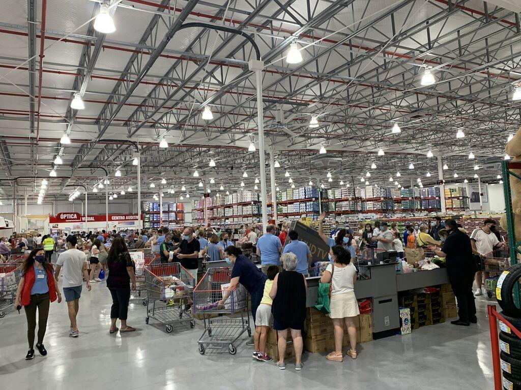 La tienda de Costco Las Rozas tiene 15.000 m2 de superficie comercial