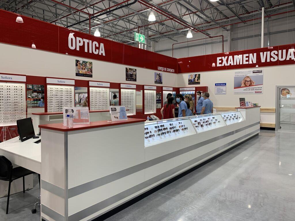 Tienda óptica en Costco Las Rozas