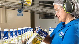 Lactalis invirtió 21M en 2019 para mejorar la producción de sus fábricas