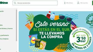 HiperDino lanza su servicio de entrega rápida en Gran Canaria