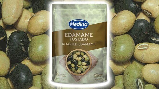 Aperitivos Medina amplía su catálogo con el nuevo Edamame Tostado