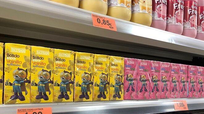 Mercadona reduce el 30% de azúcar en sus batidos