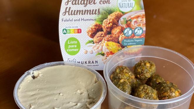 Carrefour y Taste Shukran lanzan faláfel con hummus