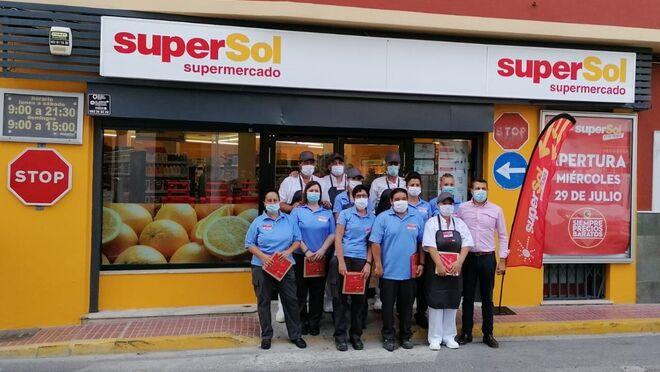 Supersol moderniza su tienda de San Rafael, en Rota (Cádiz)