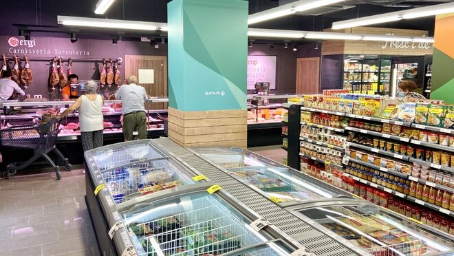Valvi Supermercats abre en Girona su primer Spar eficiente