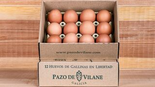 La caja de Pazo de Vilane: un envase único para huevos camperos que marcó un hito en el lineal