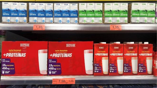 Mercadona vende más de 12.000 unidades diarias de su Leche +Proteínas