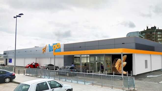 Lupa invierte 1,5 millones en su nuevo súper de Palencia