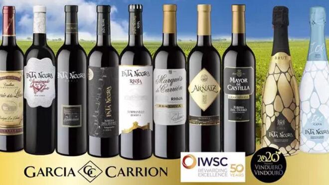 Más de 200 medallas para los vinos de García Carrión