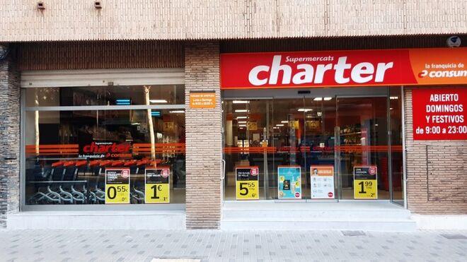 Charter supera el centenar de tiendas en Valencia con su nuevo súper de Aldaia