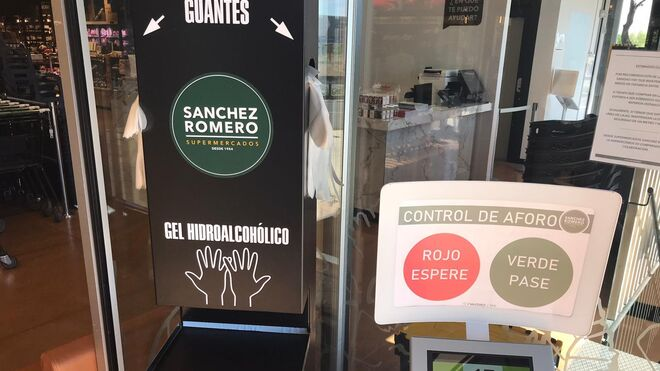 Sánchez Romero instala un sistema de control de aforo