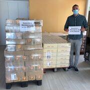 Mercadona dona 4 toneladas de alimentos a Mensajeros de la Paz