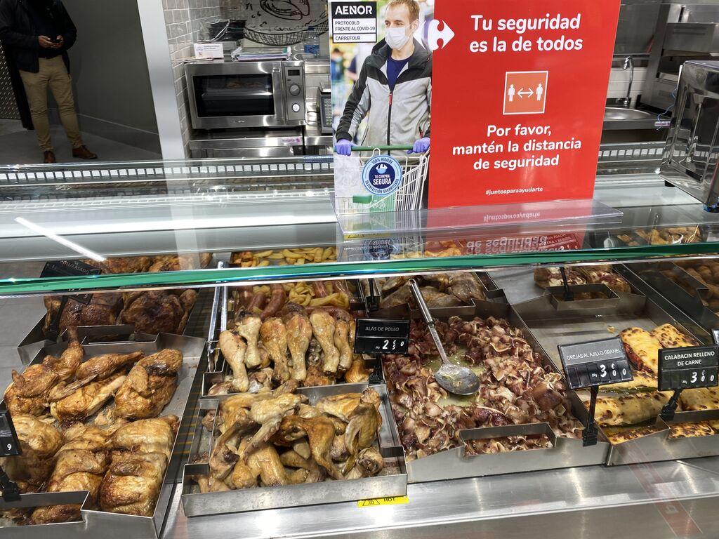 Amplia oferta de platos cocinados listos para consumir