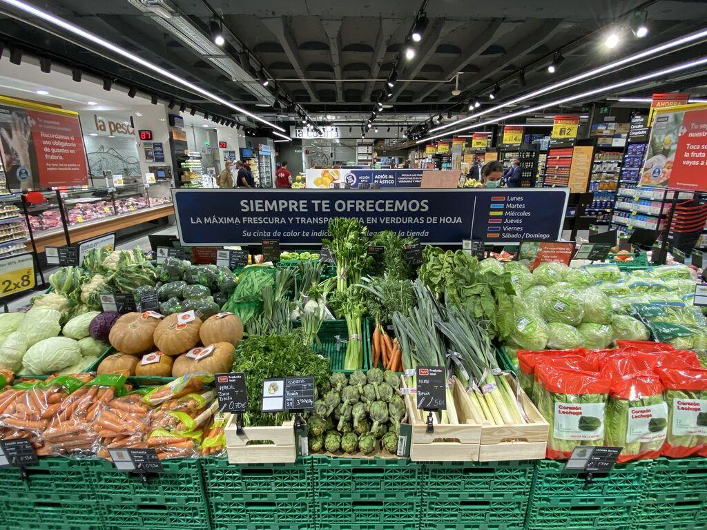 Promesa de máxima frescura en verduras
