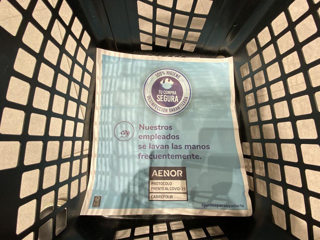 Promesa de seguridad en cada cesta