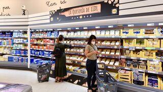 Lidl estrena su nueva sección de quesos gourmet