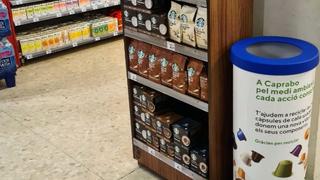Caprabo instala contenedores para reciclar cápsulas de café