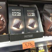 Mercadona vende 8.000 unidades al día de su nueva tableta 99% Cacao