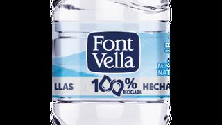 Font Vella lanza su primera botella 100% hecha de otras botellas