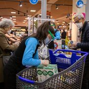 Las cestas de la compra crecieron el 6% en el último año