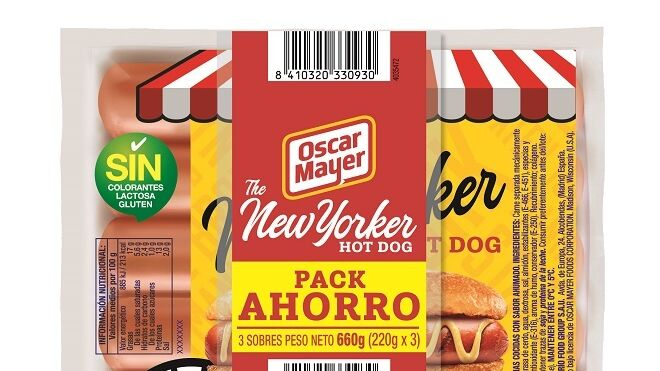 OSCAR MAYER presenta THE NEW YORKER HOT DOG