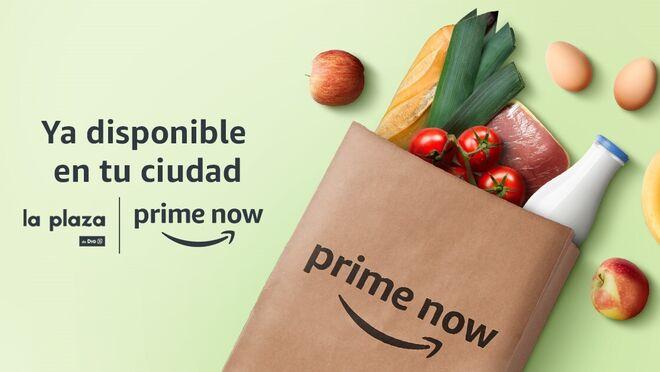 Amazon y Dia amplían el servicio Prime Now a Bilbao y Alicante