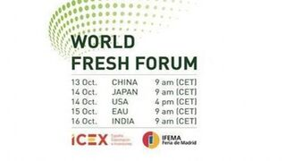 El World Fresh Forum de Fruit Attraction calienta motores