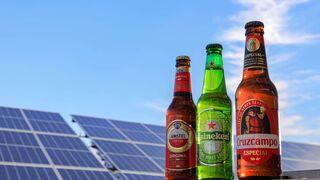 El sol, ingrediente secreto de las cervezas Cruzcampo, Amstel y Heineken