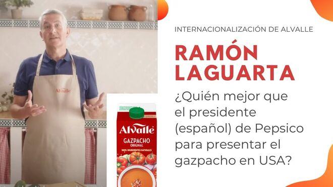 Ramón Laguarta (Pepsico) protagoniza el vídeo de lanzamiento de Alvalle en EE.UU.