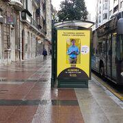 Alimerka lanza una campaña de mupis interactivos