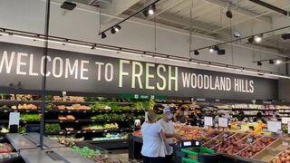 Así es el Amazon Fresh recién estrenado en Los Ángeles (California)