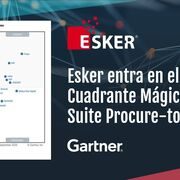 La suite Procure-To-Pay de Esker entra en el Cuadrante Mágico 2020 de Gartner
