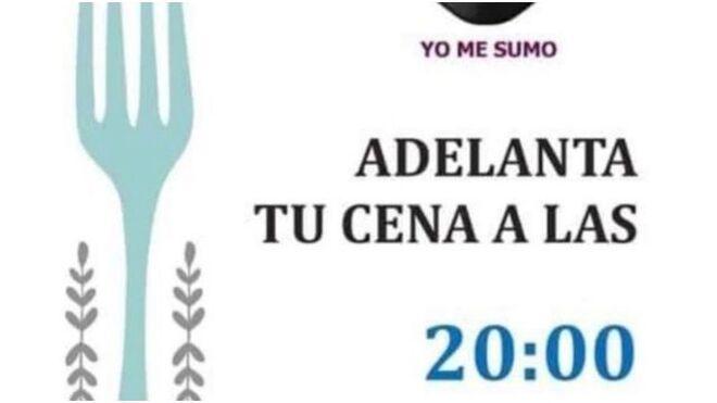 Early Bird: 'Adelanta tu cena a las 20 horas' para apoyar a la hostelería. ¿Un mensaje eficaz?