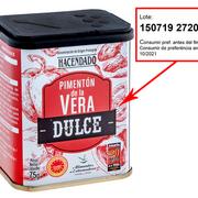 Mercadona retira su pimentón de la Vera dulce de Hacendado por alerta de salmonella